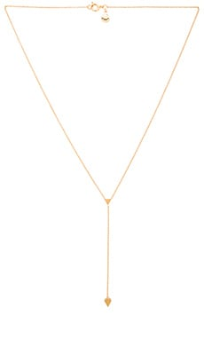 gorjana Nesa Lariat Necklace in Gold