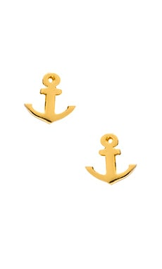 gorjana First Mate Studs in Gold
