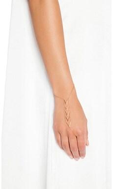 gorjana Morrison Handchain in Gold