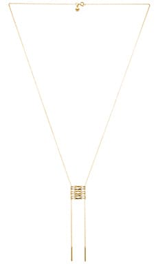 gorjana Alejo Drop Necklace in Gold