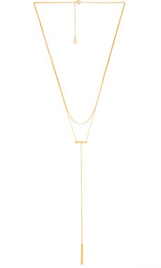 gorjana Asher Lariat in Gold