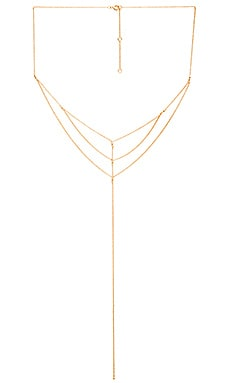 gorjana SU2C x REVOLVE Jane Layered Lariat in Gold