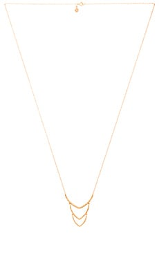 gorjana Amanda Pendant Necklace in Gold