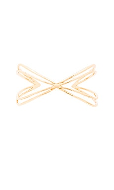 gorjana Skyler Cuff in Gold