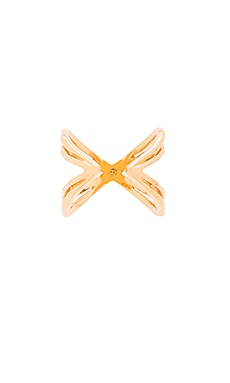 gorjana Skyler Cuff Ring in Gold