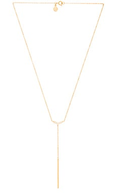 gorjana Cress Shimmer Lariat in Gold