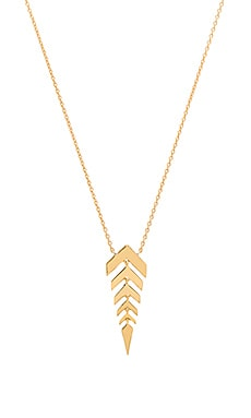 gorjana Zorah Pendant Necklace in Gold