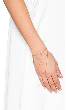 gorjana Quin Handchain in Gold