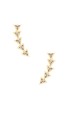 gorjana Vivienne Ear Climber in Gold