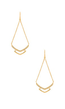 Cress Shimmer Drop Earring