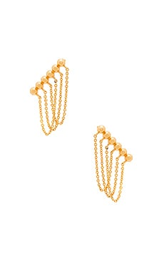 gorjana Gold Rush Ear Climber in Gold
