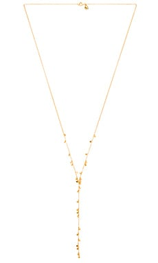 gorjana Chloe Mini Lariat in Gold