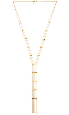 gorjana Gold Rush Lariat in Gold
