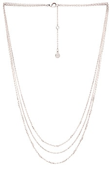 gorjana Joplin Layered Necklace in Silver