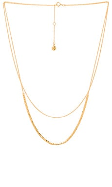 Tavia Layered Necklace in Gold