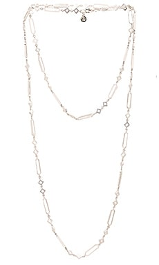 Sia Wrap Necklace in Silver
