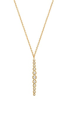Mae Shimmer Pendant Necklace in Gold