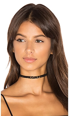 Taylor Triple Stand Choker in Black Cord