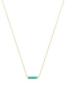 Dez Bar Necklace in Turquoise