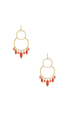 Eliza Tiered Chandelier Earrings