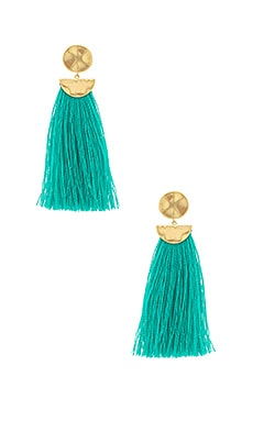 Havana Circle Tassel Earrings gorjana $55 BEST SELLER