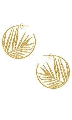 Palm Profile Hoops gorjana $65