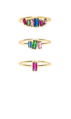 Amara Ring Set gorjana $55 BEST SELLER