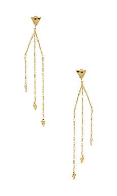 Luca Triangle Earrings gorjana $29