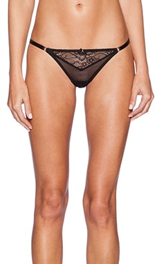 Gooseberry Intimates Shine String in Black