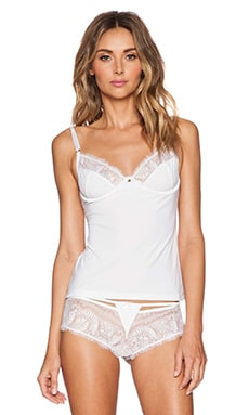 Gooseberry Intimates Innocence Caraco Top in White