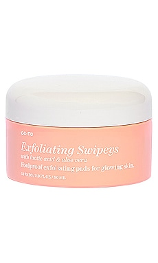 LINGETTES EXFOLIANTES VISAGE SWIPEY Go-To $35 BEST SELLER