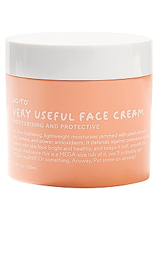 CRÈME HYDRATANTE VISAGE VERY USEFUL Go-To $50