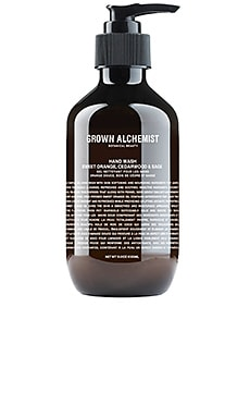 Hand Wash Sweet Orange, Cedarwood & Sage Grown Alchemist $37