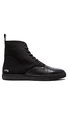 Gram 470G Leather & Black Nylon en Noir