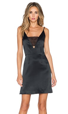 Grace Brian Mini Dress in Black