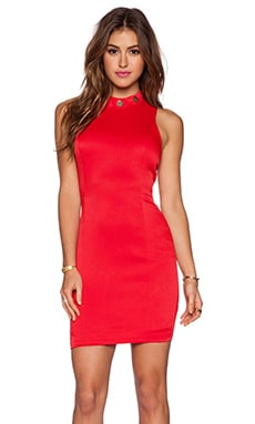 Grace MMXIII Crystal Dress in True Red