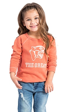 The Great The Little Panther Sweatshirt in Cantaloupe