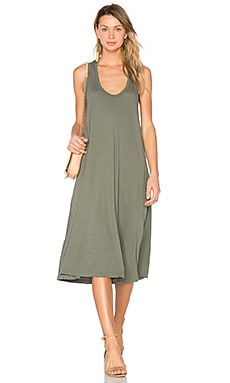 The Swing Tank Dress en Army