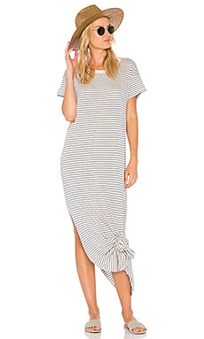 The Knotted Tee Dress