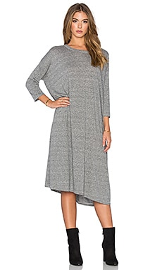 The Great The Square Dress in Heather Grey