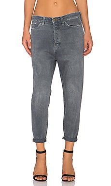 The Great Blue The Mister Slouch in Worn Grey Wash