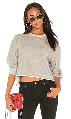 The Cut Off Sweatshirt The Great $123