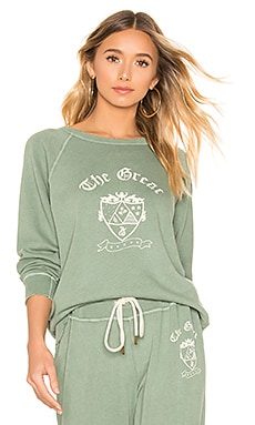 The College Crest Sweatshirt The Great $185