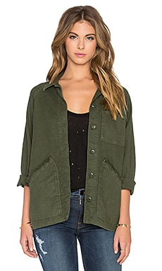 The Great The Field Jacket in Dark Army