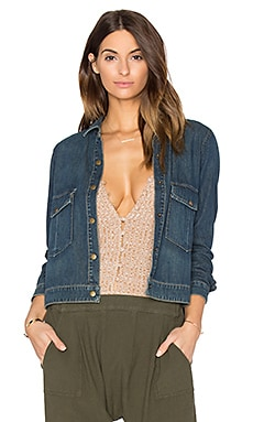 The Great The Swingy Jean Jacket in Utah Blue Wash