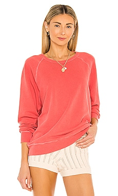 The College Sweatshirt en Corail