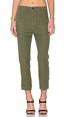 The Great The Slouch Army Pant in Beat Up Army