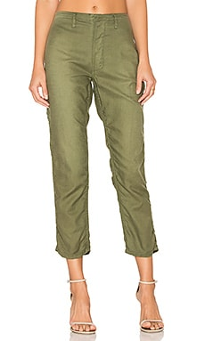 The Carpenter Trouser in Beat Up Army