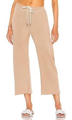 Wide Leg Cropped Sweatpant The Great $165 NEW