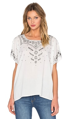 Beaded Willow Tunic Top